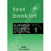 Curs de limba engleza. Enterprise 1 Beginner. Test Booklet