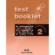 Curs de limba engleza. Enterprise 2 Elementary. TEST BOOKLET