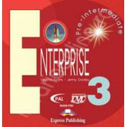 Curs de limba engleza. Enterprise 3 Pre-Intermediate. DVD