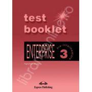 Curs de limba engleza. Enterprise 3 Pre-Intermediate. TEST BOOKLET