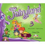 Curs pentru limba engleza. Fairyland 3 Class audio CDs (Set 3 CD)