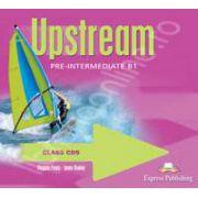 Curs pentru limba engleza. Upstream Pre-Intermediate B1. Class audio CDs (Set 4 CD)