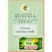 Pachet ,,Ceaiul Verde'. Ceai verde 20 pliculete 1,5g si Cartea ceaiului verde.'Remediul miraculos'confirmat stiintific