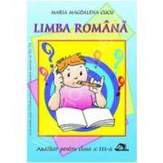 Limba romana, auxiliar pentru clasa a III-a