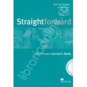 Straightforward Elementary Teachers Book + CD