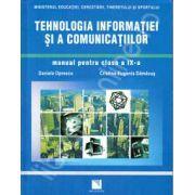 Tehnologia informatiei si a comunicatiilor. Manual pentru clasa a IX-a