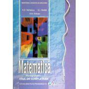 Matematica manual pentru clasa a XI-a. Anul de completare