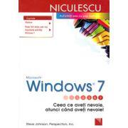 Microsoft Windows 7. Ceea ce aveti nevoie, atunci cand aveti nevoie!