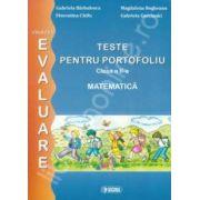 Teste pentru portofoliu clasa a II-a. Matematica (Colectia - Evaluare)