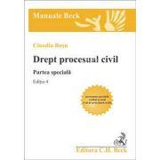 Drept procesual civil. Partea speciala. Editia 4 (Rosu)
