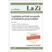 Legislatia privind terenurile si restituirea proprietatilor (actualizat la 15.10.2012)