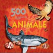 500 de curiozitati despre animale - carte educativa