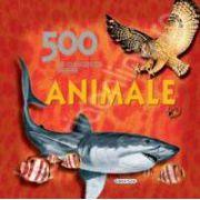 500 de curiozitati despre animale - carte educativa
