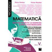 Matematica. Breviar teoretic cu exercitii si probleme rezolvate, pentru clasa a V-a