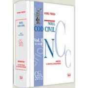 Noul Cod civil. Volumul. II. ( Art. 1164-2664). Adnotat cu doctrina si jurisprudenta