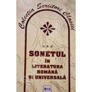 Sonetul in literatura romaneasca si universala
