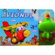 Avionul. Carte cu jucarie