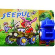 Jeepul. Carte cu jucarie
