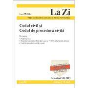 Codul civil si Codul de procedura civila (actualizata la data de 5.01.2013). Cod 493