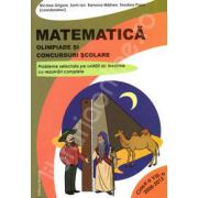Matematica. Olimpiade si concursuri scolare. Clasa a VIII-a, Anii 2008-2012 (Probleme selectate pe unitati de invatare cu rezolvari complete)