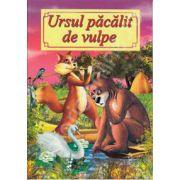 Ursul pacalit de vulpe - Ilustrata A4