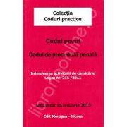 Codul penal. Codul de procedura penala. Actualizat 15 ianuarie 2013