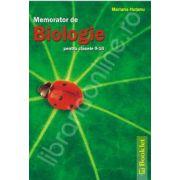 Memorator de Biologie pentru clasele 9-10