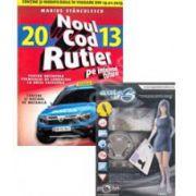 Pachet legislatie rutiera. Noul cod rutier 2013 si DVD cu software auto B+V.3 pentru categoria B