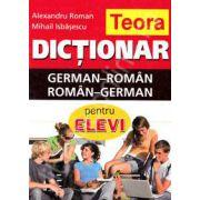 Dictionar dublu Geman-Roman, Roman-German (Pentru elevi)