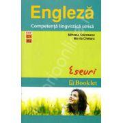 Engleza. Competenta lingvistica scrisa (Eseuri). CEF - C1, B2