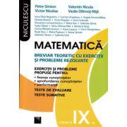Matematica clasa a IX-a. Breviar teoretic cu exercitii si probleme rezolvate - Editie veche