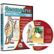 CD, interactiv. Geometrie (La voia Zeilor). Intre joc si nota 10. Matematica pentru clasa a VII-a, Volumul 3