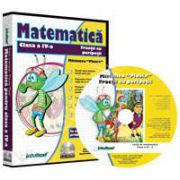 CD, interactiv. Fractii cu peripetii. Matematica pentru clasa a IV-a