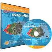 CD, interactiv. Geografika - Romania Interactiva. Geografie pentru clasa a VIII-a