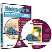 CD, interactiv. Geometrie (De ce lesina elefantii?). Intre joc si nota 10. Matematica pentru clasa a VII-a, Volumul 5
