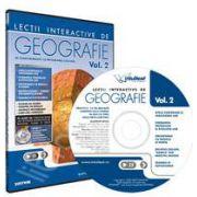 CD, interactiv. Lectii interactive de geografie pentru liceu, Volumul II