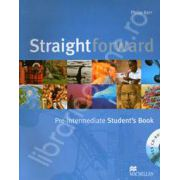 Straightforward (A2-BI) Pre-Intermediate Student's Book. Includes Cd-rom