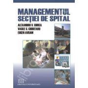 Managementul sectiei de spital