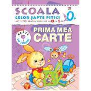 Prima mea carte. Activitati pentru copiii de la 0 la 1 an - carte cu jocuri
