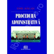 Procedura administrativa (Emil Balan)