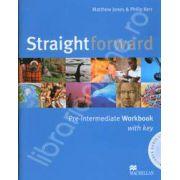 Straightforward (A2-BI) Pre-Intermediate Workbook (with Answer Key) and CD