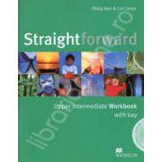 Straightforward (B2) Upper Intermediate Workbook with Answer Key Pack and CD