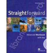 Straightforward (CI) Advanced Workbook with Answer Key and Audio CD