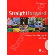 Straightforward (BI) Intermediate Workbook with Answer Key and CD Pack
