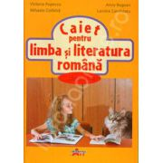 Caiet pentru limba si literatura romana, clasa a II-a