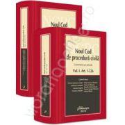 Noul Cod de procedura civila - comentariu pe articole (2 volume)