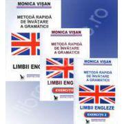 Set. Metoda rapida de invatare a gramaticii limbii engleze - 3 Volume