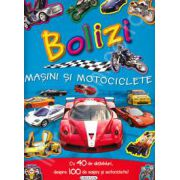 Bolizi - Masini si motociclete cu 40 de abtibilduri