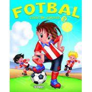 Fotbal - carte de colorat (2)