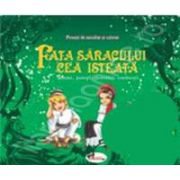 Povesti de ascultat si colorat. Fata saracului cea isteata. Basme, povestiri romanesti (Contine, CD audio)